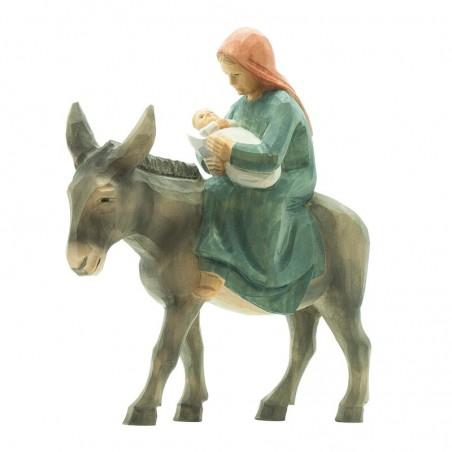 09.001.4F Maria auf Esel mit Kind_10